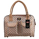 BETOP HOUSE Pet Dog Puppy Cat Kitty Carrier Tote Travel Handbag Khaki Checks Pattern Review