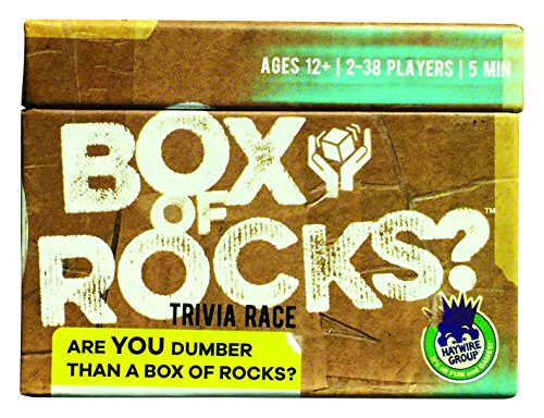 Haywire Group Box of Rocks Board Games