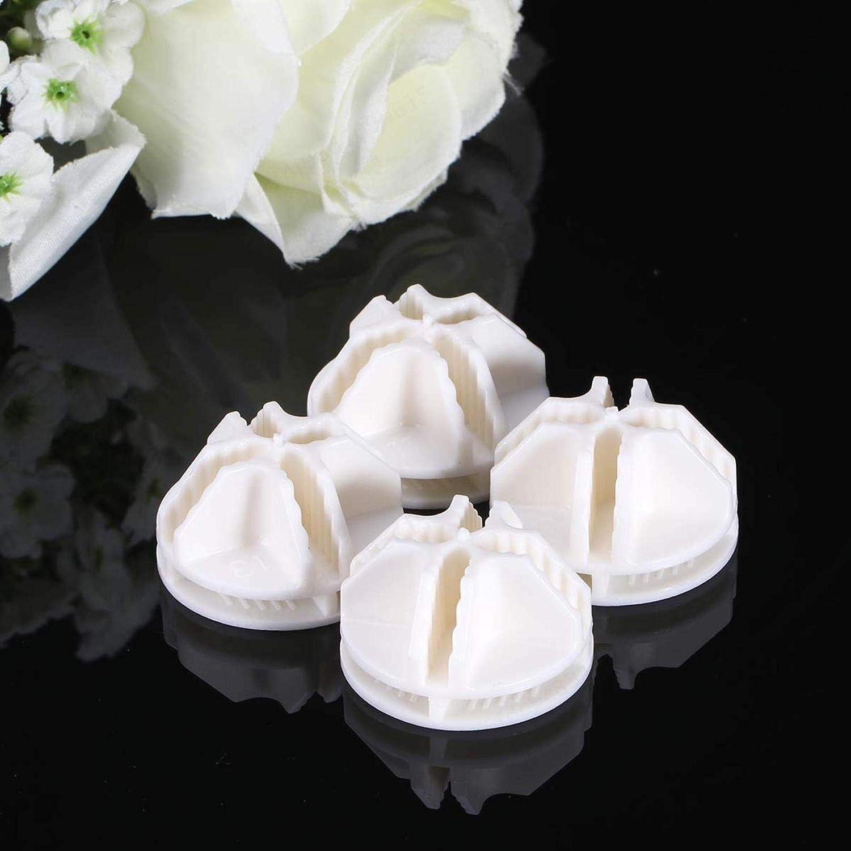 Connecteurs pour Cube de Fil /étag/ères de Rangement 20 pi/èces KOKO Zhu Blanc Grille Cube Abs connecteur