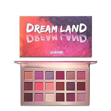 Prime Sale Day Deals Week Amazon UCANBE 18 Color Eyeshadow Pearl Metallic  Palette, Highly