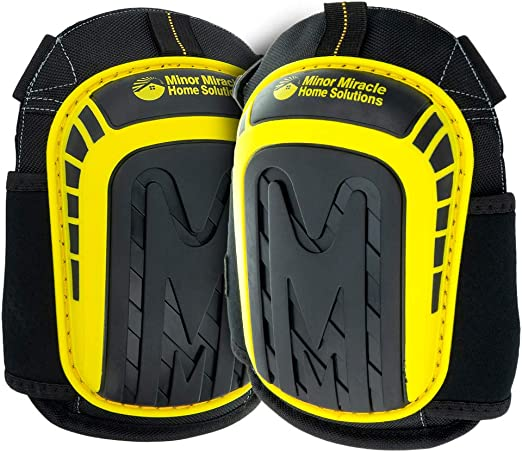 Pair Professional Construction Work Gel filled Knee Pads Safety Protectors Home