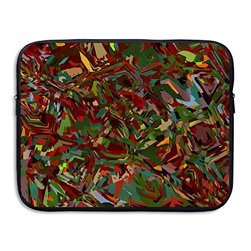 Homlife Laptop Sleeve Bag Abstract Art Wallpaper 13/15 Inch Briefcase Sleeve Bags Cover Notebook Case Waterproof Portable Messenger Bags