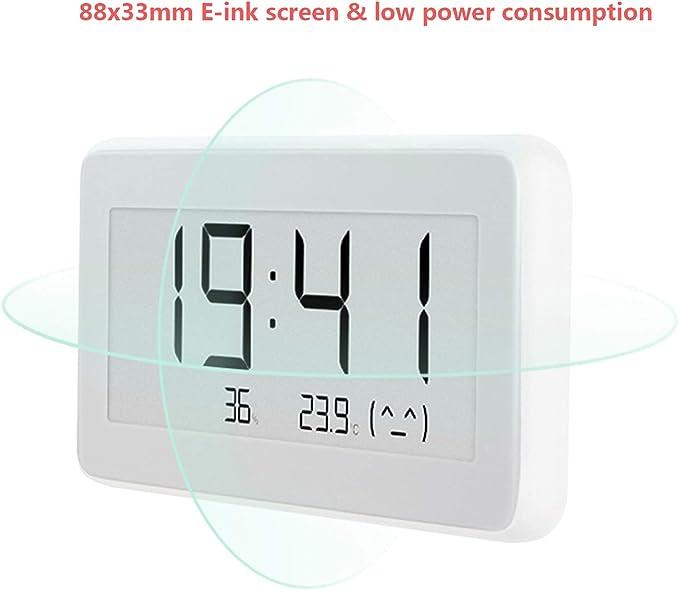 Sheawa For Xiaomi Mijia Bt4 0 Wireless Smart Electric Digital Clock Indoor Outdoor Hygrometer With Lcd Display Garten