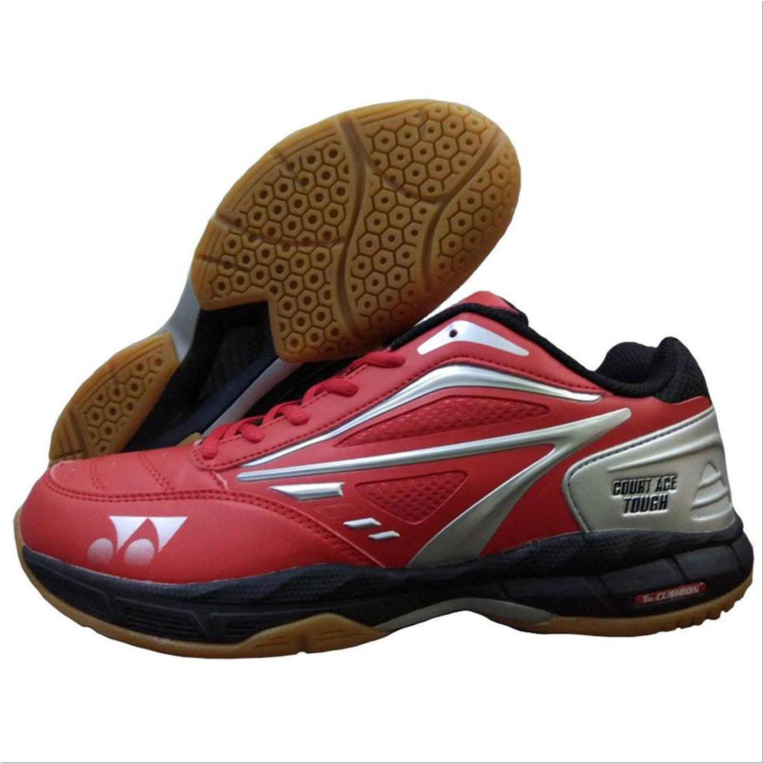 Yonex Federbälle, Ace (gumsloe-Badminton-Schuhe – Rot Schwarz Silber