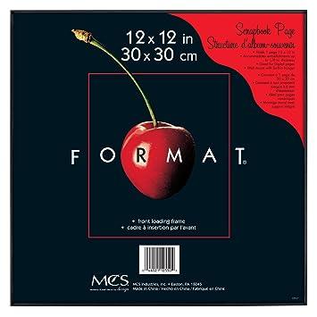 mcs 12 x 12 inch format frame black