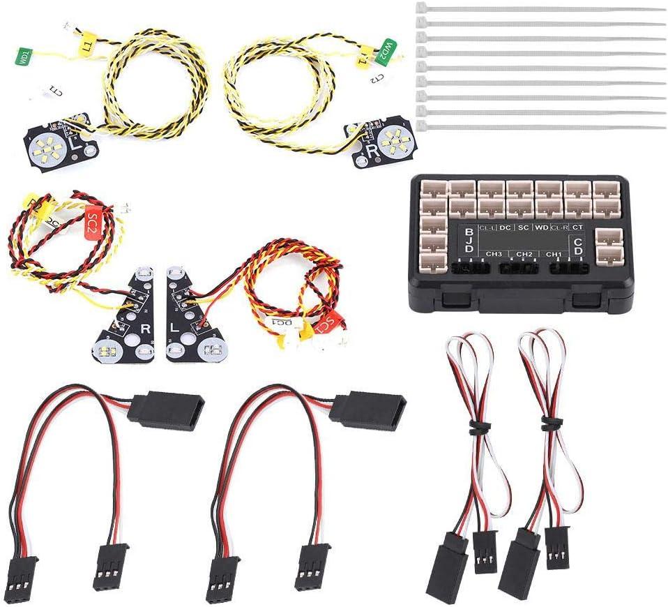 Dilwe RC LED Luz, RC Modelo LED Luces Set Grupo de L ...