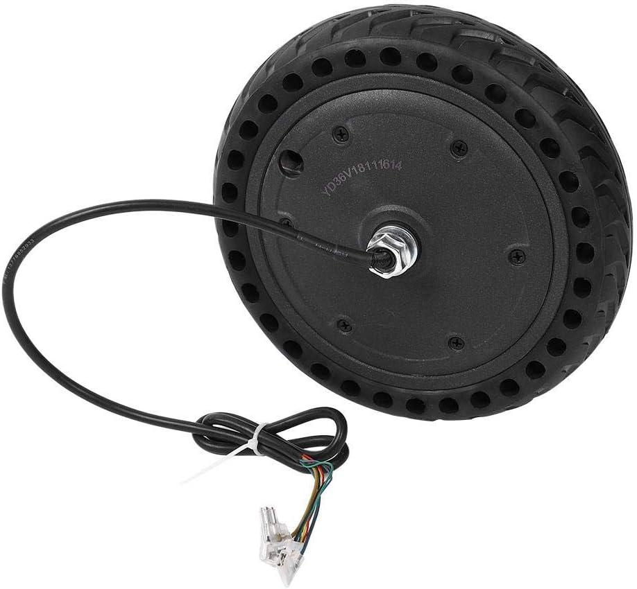 Alomejor Juego de neumáticos para Ruedas E-Bike Juego de neumáticos para Ruedas a Prueba de explosiones Reemplazo de neumáticos para Xiaomi M365 Scooter eléctrico Skateboard E-Bycile