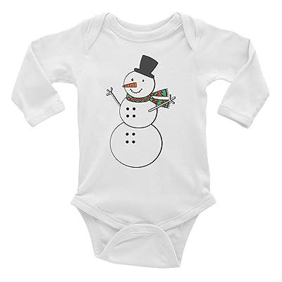 82593cdc4 Urbs Republic Snowman Infant Long Sleeve Bodysuit  5WefJ0309064 ...