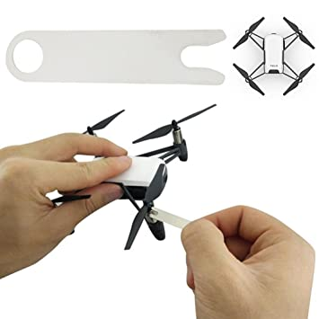 for DJI Tello Drone, Plastic Propeller Release Tool U-Wrench Blade Removal  Wrench for DJI Tello Drone (White)
