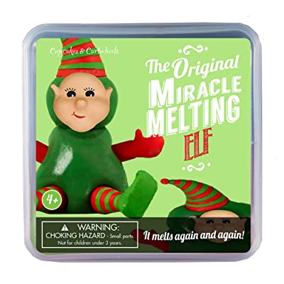 Melting Elf in Gift Box: Toys & Games
