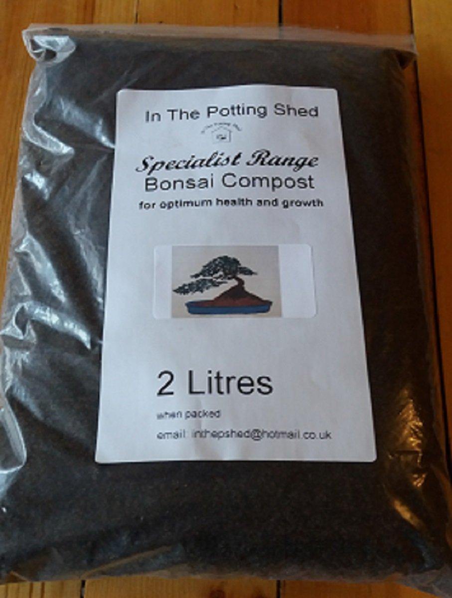 Bonsai compost 2 Litres inthepottingshed