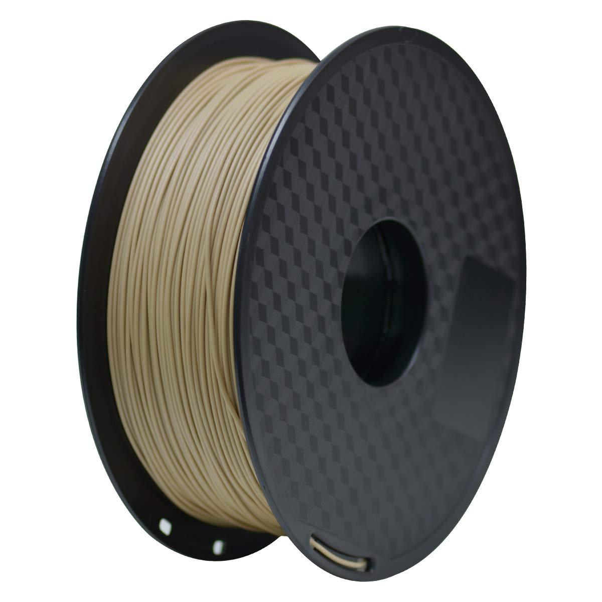 PLA Filament 1.75mm, Geeetech 3D Printer PLA Filament,1.75mm,1kg per Spool,Wood