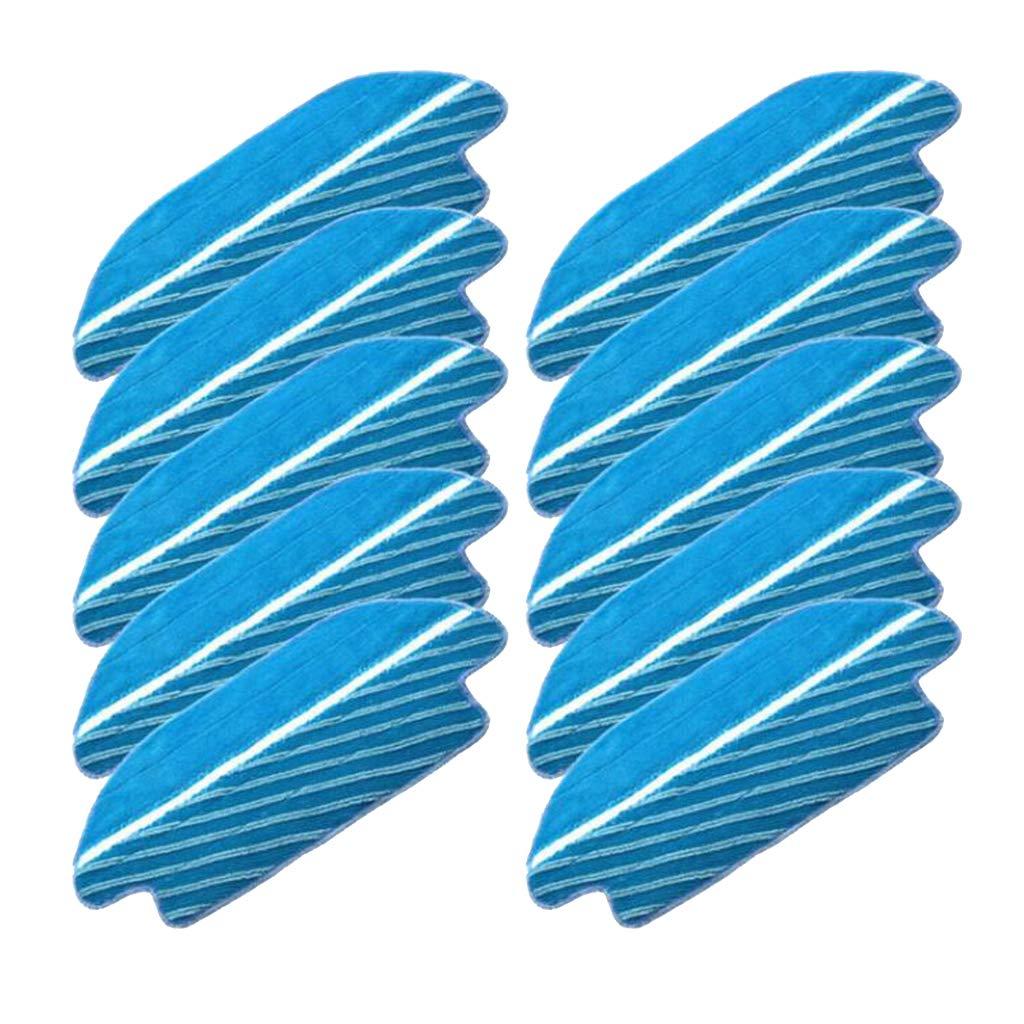 B Blesiya 10 Piezas De Aspiradora Bursh Rag Repuestos Accesorios para Conga 3490