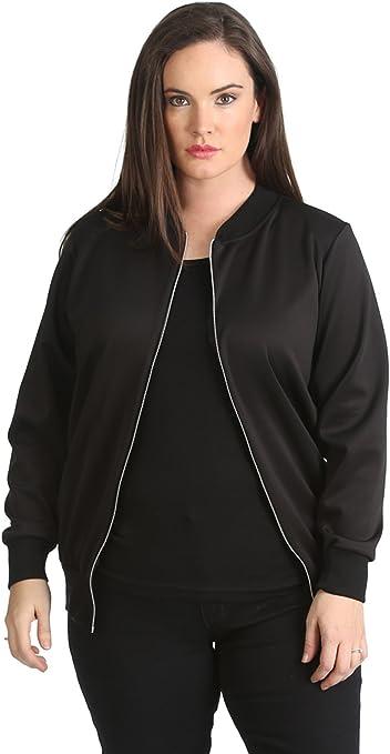 New Womens Jacket Bomber Plus Size Ladies Varsity Aztec Print Ribbed Nouvelle