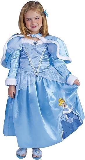 Princesas Disney - Disfraz de Cenicienta de Invierno para niña ...