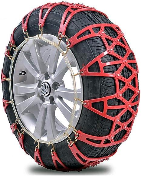 Rad Reifen Schnee Anti-Rutsch-Ketten für Auto LKW Notfall Universal Winter H1O8