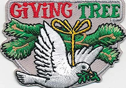 Amazon com: Girl Boy Christmas Giving Tree Angel Donation Patches