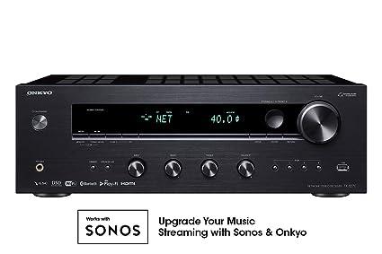 amazon com onkyo tx 8270 2 channel network stereo receiver with 4k rh amazon com onkyo receiver setup diagram