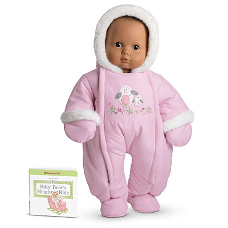 Amazon American Girl Bitty Baby Polar Penguin Snowsuit for