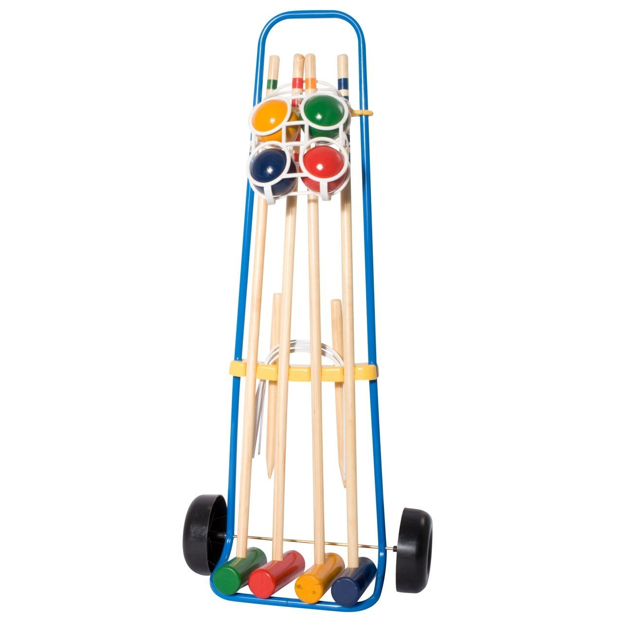 HUDORA 78100 - Krocket Set 4 Spieler