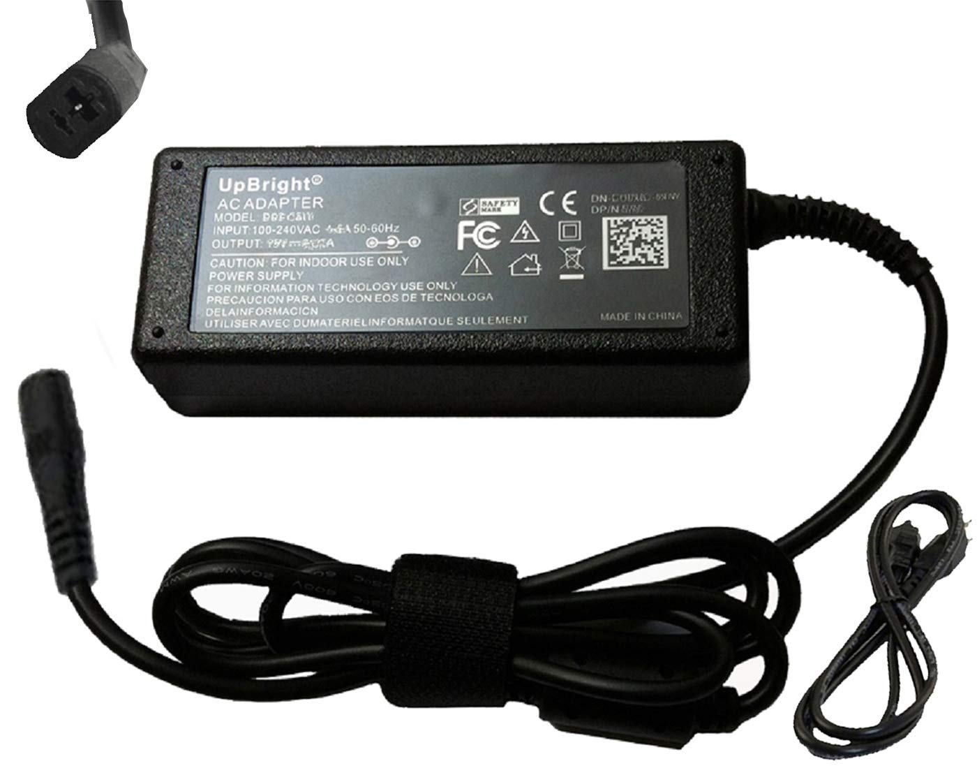 UpBright 2-Prong 29V AC/DC Adapter Replacement for Changzhou Kaidi Electrical Co Ltd P/N KDDY001 KDDY008 KDDY001B KD KDDY001A KDDY001 A B 29VDC 2A DC29V 2.0A 29.0V Power Supply Cord Cable Charger PS