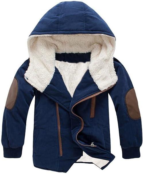Vogstyle Jungen Winter Jacket Baumwolljacke Kinder Mantel