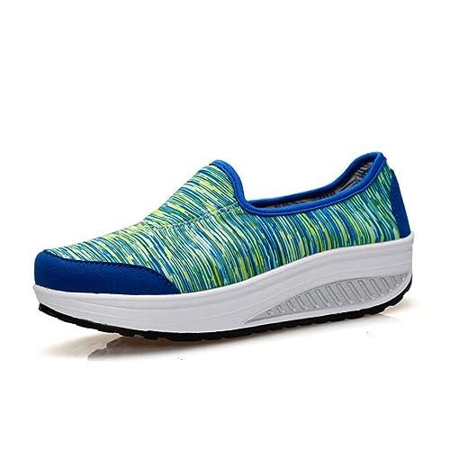 14c1b5563ca JITIAN - Zapatillas de Running de Lona Mujer  Amazon.es  Zapatos y  complementos