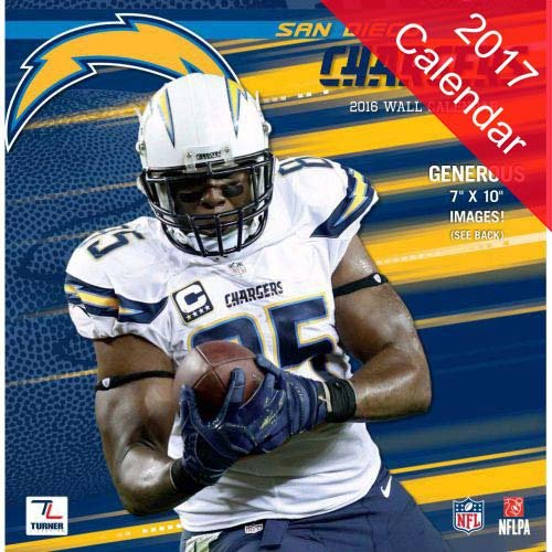 San Diego Chargers 2017 (San Diego Chargers Calendar)