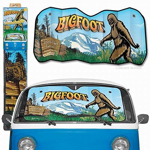 Archie McPhee Bigfoot Auto Sunshade product image