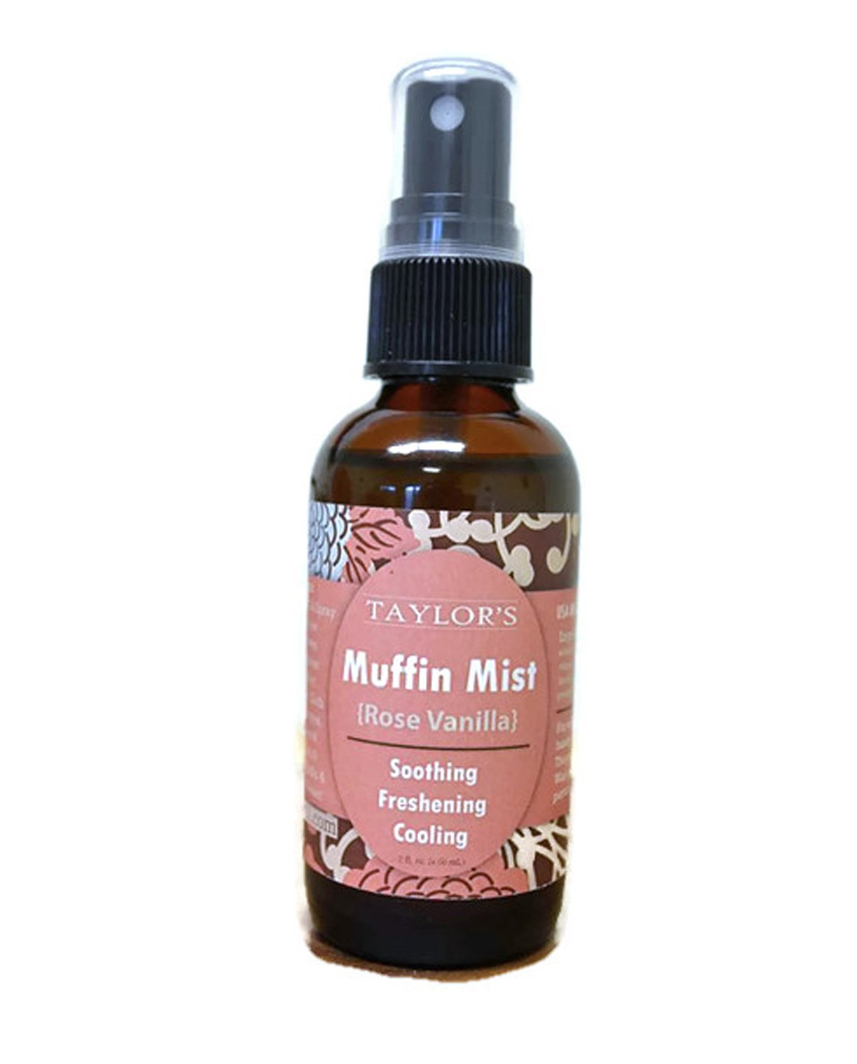 ELEVATED (by TAYLOR'S) Muffin Mist - All Natural Feminine Spray - Soothing, Freshening, Cooling - Made in USA! … (Rose Vanilla)