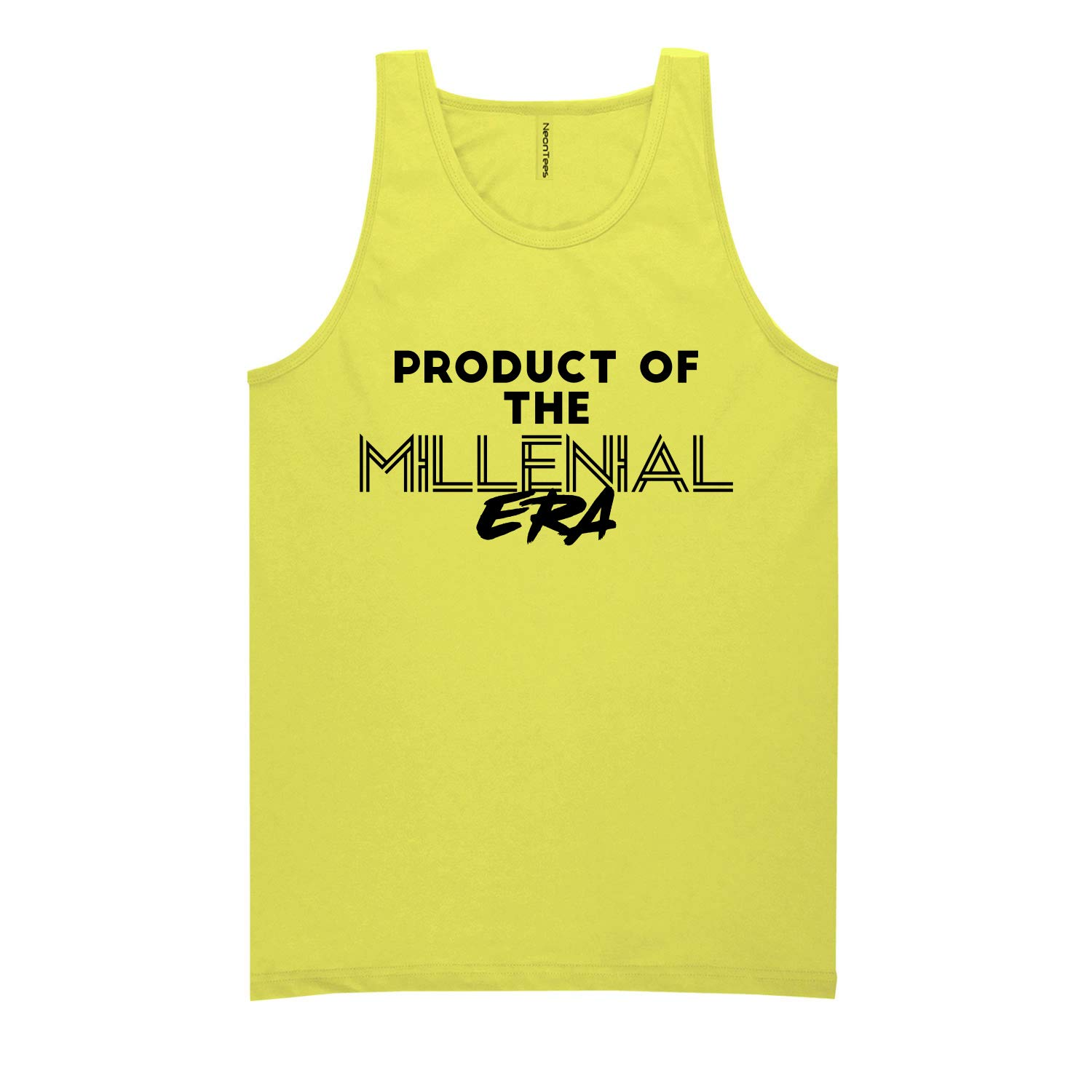 Product of The Millenial ERA Neon Tank Top