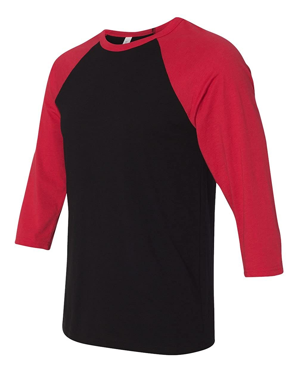 Bella Canvas Unisex Jersey 3 4 Sleeve Baseball Tee Clothing The Olive House Gantungan Baju X Hangar