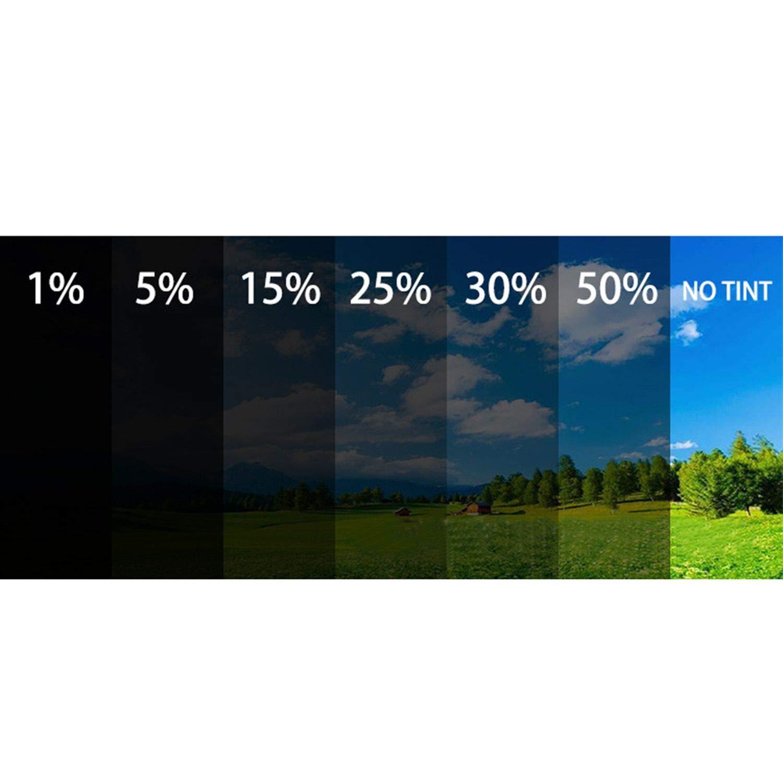 wall-8-CC 50cm*6m Window Tint Film Black Glass 50/% Roll 2 Ply Auto Car Glass Solar Protection Car Window Film,A1