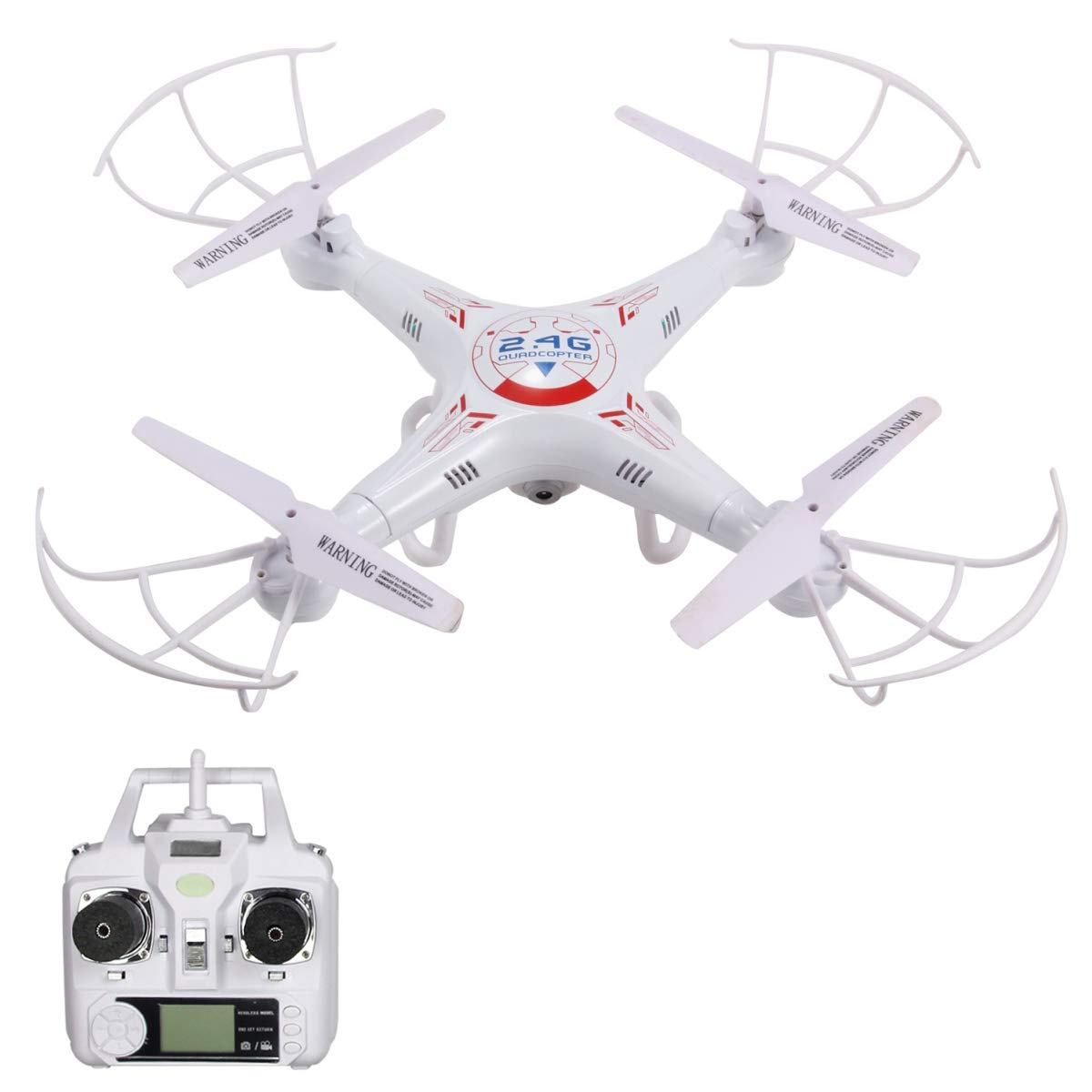 RC Explorers 2 4G 4CH 6-Axis Gyro Quadcopter Drone with Camera
