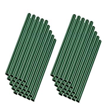 MCTECH 50pcs Clips de fixation universels Rails de serrage pour protecteur  d\'écran en PVC (vert, 50pcs)