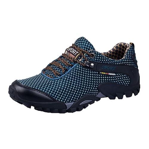Yying Scarpe da Trekking Uomo Maglia Traspirante Arrampicata Sportive  All aperto Escursionismo Sneakers 38- 19e765d979e