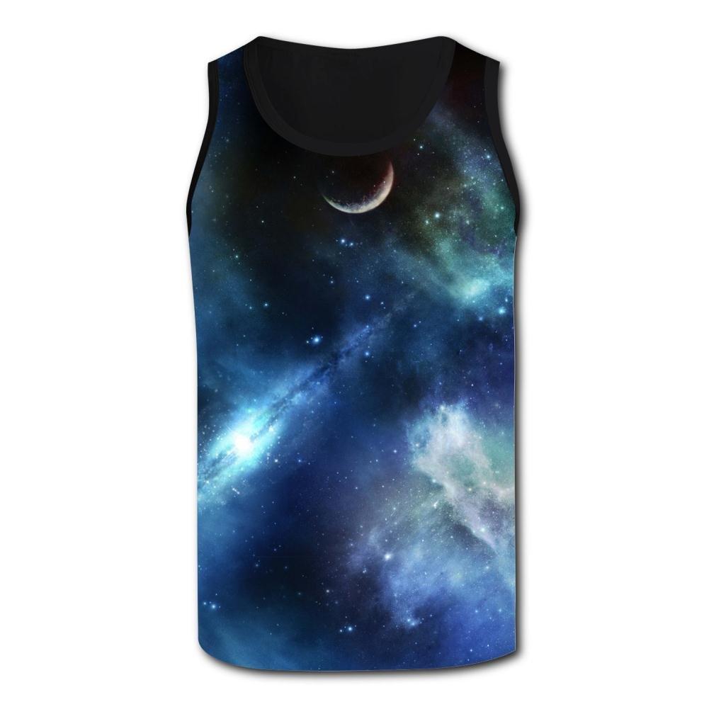 Real Space Tank Top Vest Shirts Singlet Tops Sleeveless Underwaist for Men Walking