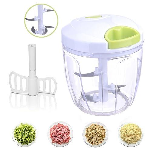 Schön HEMCER Gemüseschneider 5 Klingen 6 Tassen Finecut / Obst Und Gemüse Zwiebel Zerkleinerer  Küche Multizerkleinerer /
