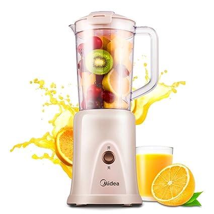 W&lx Máquina de cocina multifuncional, Leche de soja mini hogar Zumos de fruta y verduras