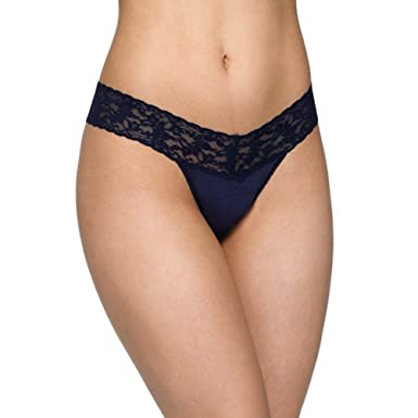 d9ef65d8a8c Image Unavailable. Image not available for. Color: Hanky Panky Organic  Cotton Low Rise Thong ...