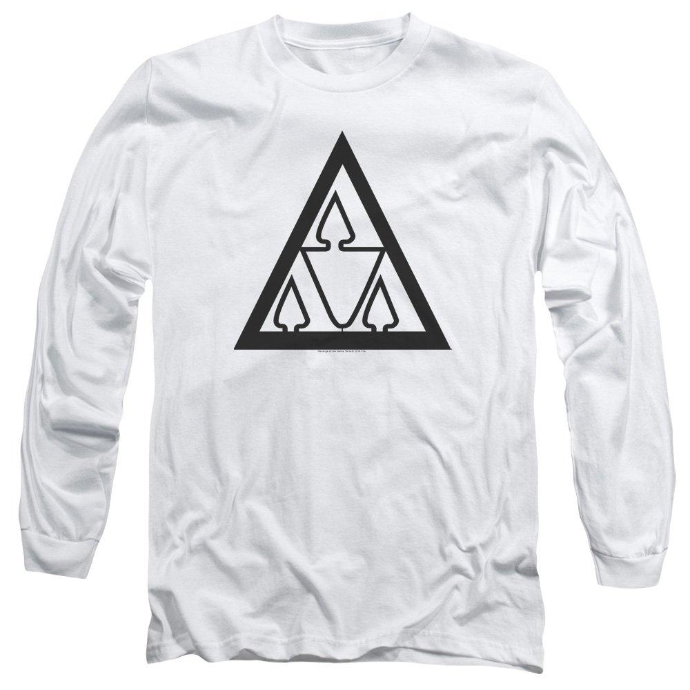 Revenge of The Nerds Tri Lamb Logo Unisex Adult Long-Sleeve T Shirt for Men and Women