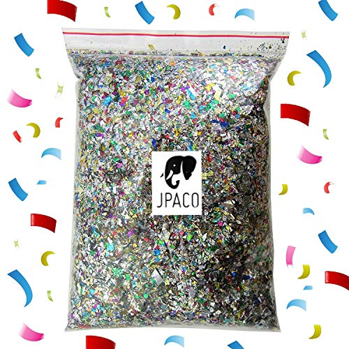 JPACO Sparkle Confetti (300 Grams) - Great for New Years Party, Wedding, Birthday, Celebration, Event, and Themed Parties