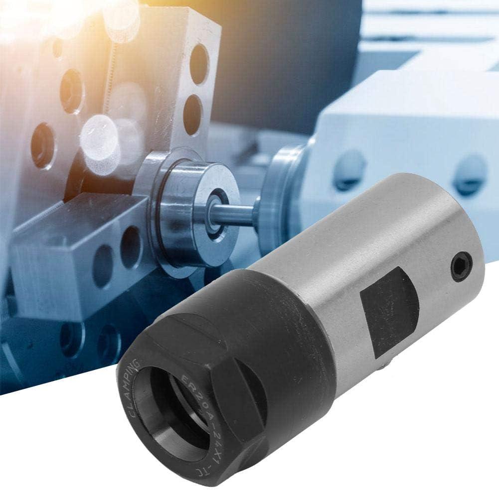 Nrpfell Mandrin de collet a arbre de moteur ER20 A 16mm Porte-rallonge porte-outil CNC Fraisage