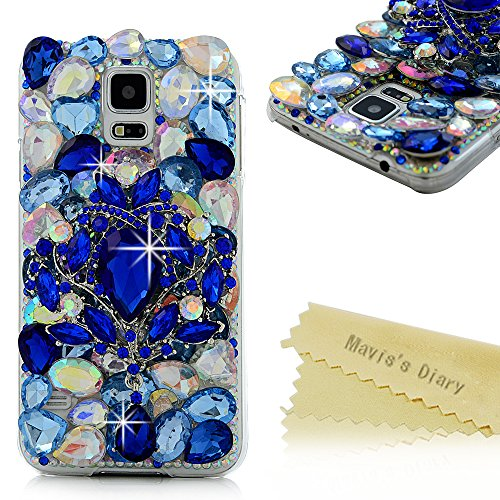 galaxy s5 cases with gems - 8