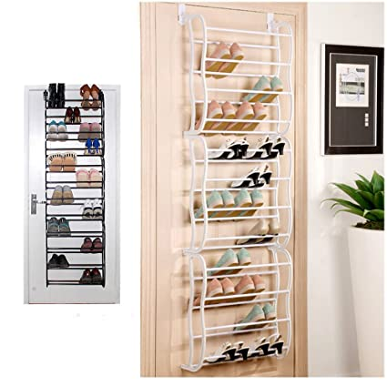 Superieur 36Pair Over The Door Shoe Rack Wall Hanging Closet Organizer Storage Stand