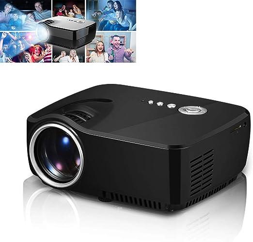 H.L Proyector casero, proyector Video Portable de la conexión sin ...
