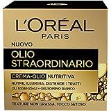 L'Oréal Paris Olio Straordinario Crema Viso-Olio Nutriente Giorno, Pelli Secche e Sensibili, 50 ml