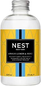 NEST Fragrances Amalfi Lemon & Mint Reed Diffuser Refill
