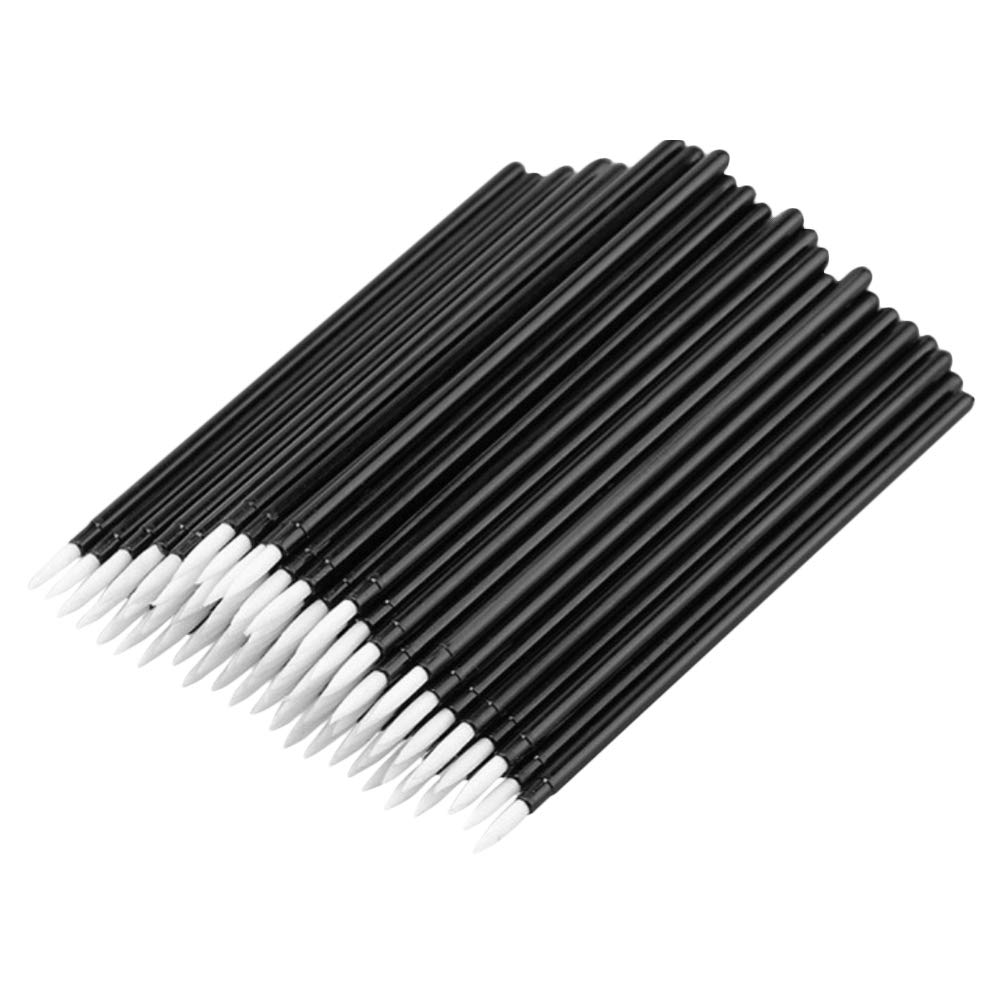 LARATH 500 Pieces Disposable Eyeliner Wands Makeup Brushes Applicator Cosmetic Wand by LARATH