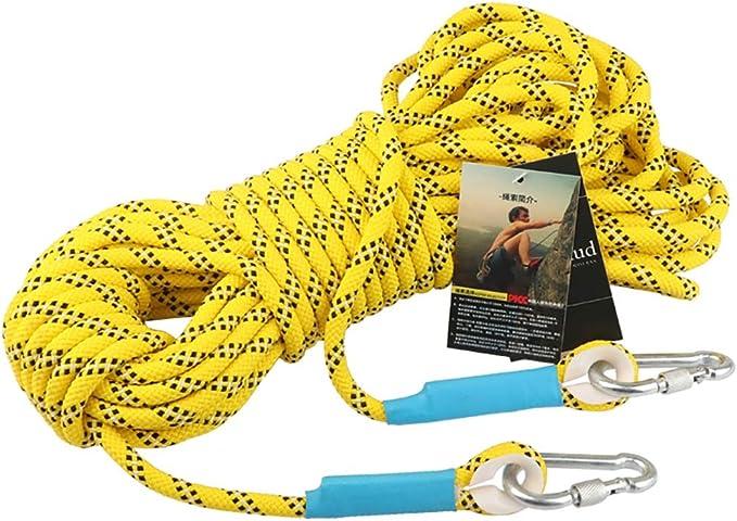Equipo de escalada tensión estática 300 kg alta cuerda de ...